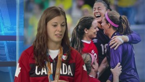 Canadian women's soccer player Stephanie Labbe home from Rio Olympics